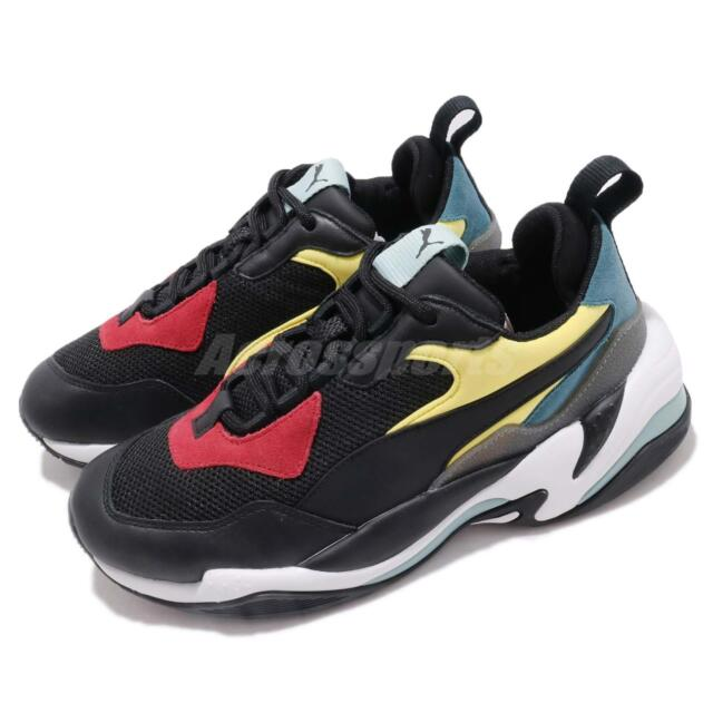 Puma Thunder Spectra OG Black White Green Red Men Chunky Daddy Shoes  367516-01