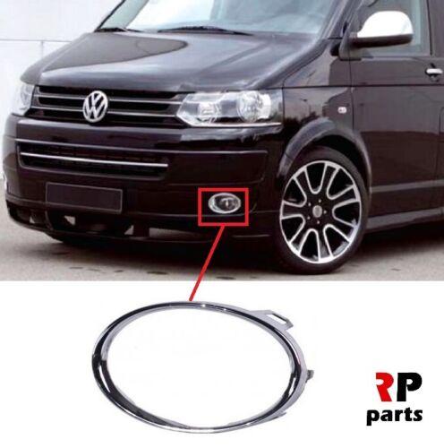 Per VW Transporter T5 09-15 Paraurti Anteriore Foglight GRILL CHROME TRIM SINISTRO