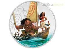 2 $ Dollar Disney VAIANA Moana Niue Island 1 oz Silber PP 2017