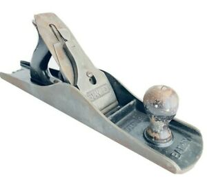 Stanley-Bailey-Vintage-Woodworking-Smooth-Hand-Planer-No-6-USA-Made-18-034-x-3-034