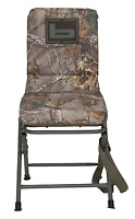 Banded Swivel Blind Chair Padded Seat Hunting Stool Realtree Xtra Camo Reg