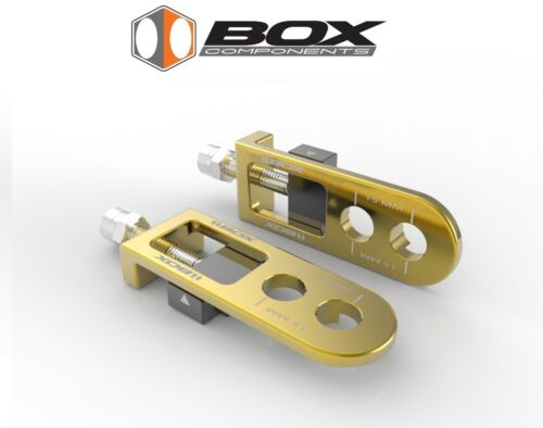 Box BMX Bicycle Chain Tensioners 2 Pack GOLD GT Supercross SE We the People DK