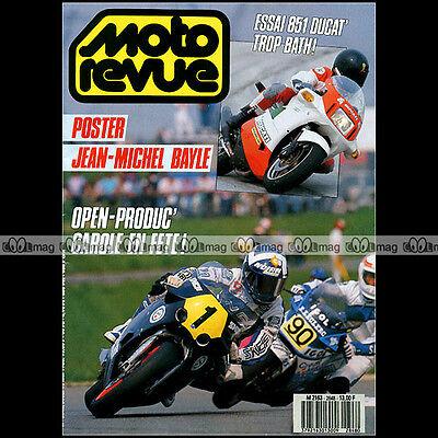 Gematigd Moto Revue N°2848 Ducati 851 Superbike Triumph T120 Aprilia Txr 312 M Atlas 1988 Koop Nu