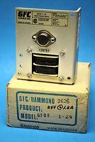 Gfc Hammond Gfof 1-24, Linear Power Supply, Input 105-250 Vac, Output 24 Vdc