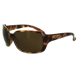 761ee2aace Image is loading Rayban-Sunglasses-4068-642-57-Havana-Brown-Polarized