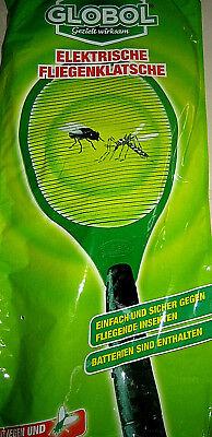 5x Elektrische Fliegenklatsche Insektenvernichter Fliegenfänger Inkl.batt.globol Weich Und Rutschhemmend