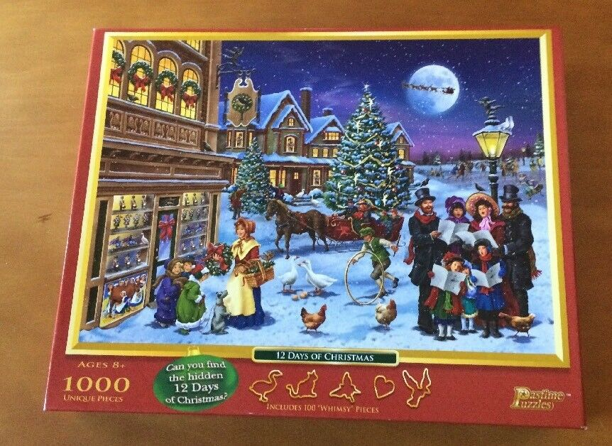 12 Days of Christmas 1000-Piece Puzzle from Pastime Puzzles
