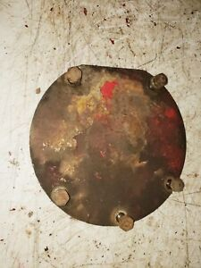 Farmall-Super-M-Tractor-Pedestal-cover-steering-gear-plate-with-bolts-M-IHC-part