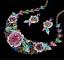 Fashion-Women-Crystal-Necklace-Bib-Choker-Pendant-Statement-Chunky-Charm-Jewelry thumbnail 84
