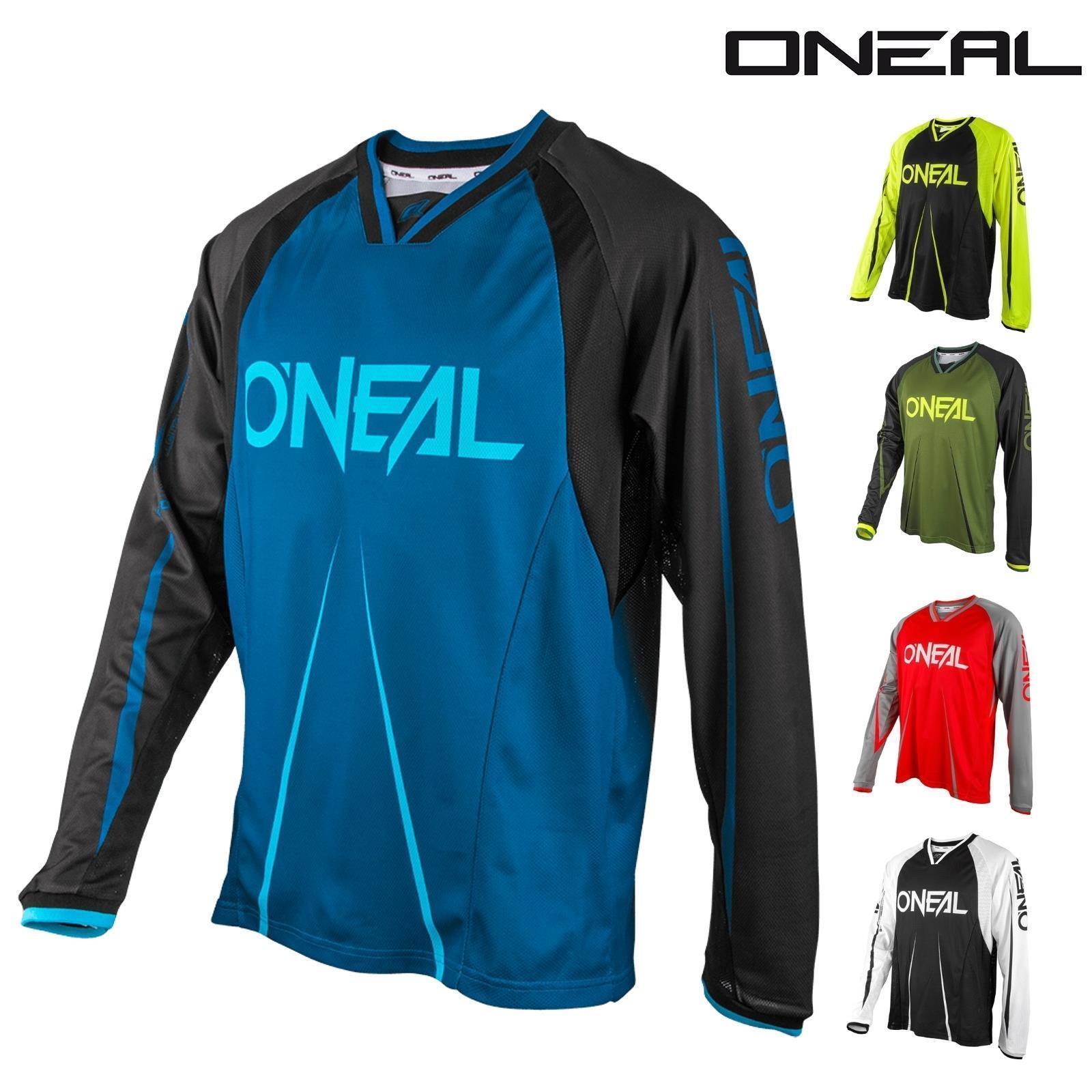 O'Neal EleMänt FR Fahrrad Trikot Shirt Jersey DH Downhill Freeride Mountain Cykel