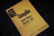 Cat Caterpillar D364 Diesel Electric Set Engine Repair Service Manual Generator