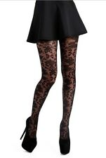Plus Size PAMELA MANN BAROQUE TULLE TIGHTS BLACK TIGHTS SIZE UK XXL (20/26)