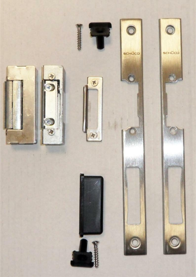 Schüco Edelstahl Schließblech U-Schließblech 235 x x x 24 x 4mm Neu OVP | Geeignet für Farbe  b3fb2e