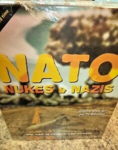 Details about NATO, Nukes, and Nazis - Board Game OSS One Small Step Games  New!