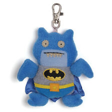 """NWT UglyDoll DC Comics Blue Batman Ice Bat 4.5"""" Clip On Toy"""