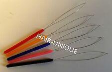 Micro Ring / Nano Ring Hair Extensions Plastic Pulling Loop Tool x 5  UK Stock