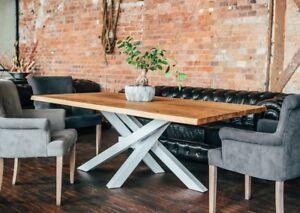 Modern Tischgestell Gestell Esstisch Stahl Tischuntergestell Holz
