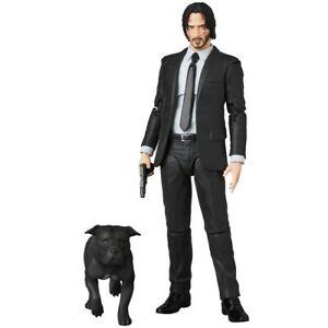 Mafex-No-085-John-Wick-Chapter-2-Keanu-Reeves-Action-Figure-New-in-Box