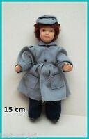 Enfant,poupée Miniature,vitrine, Maison De Poupée,personnage,garçon Manteau