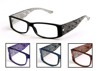 Choose Your Color Women's Clear Lens Fashion Glasses Designer Trendy Hot