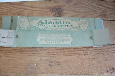 Used Aladdin Kerosene Mantle Lamp Company Nu Type Model B Lox On Chimney Box