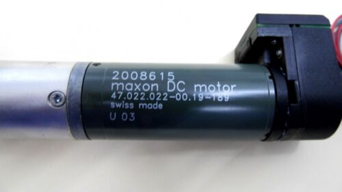 MAXON 2008615 DC MOTOR 47.022.022-00.19-189 WITH GEARHEAD AND ENCODER