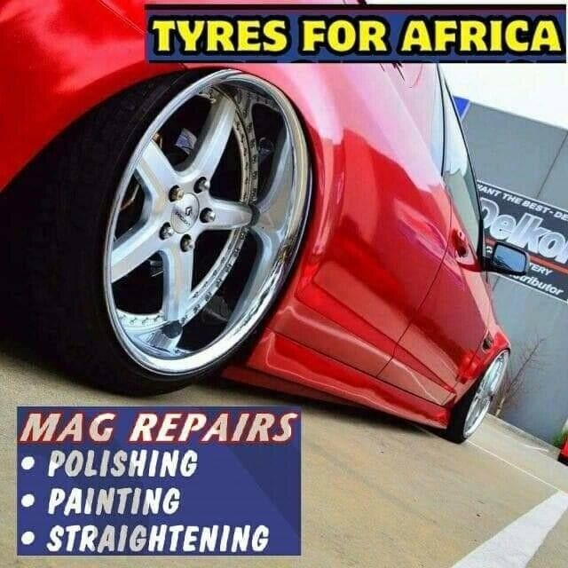 TYRES FOR AFRICA.Merebank Branch open 7 days GOOD SECOND HAND TYRES AND MAG REPAIRS