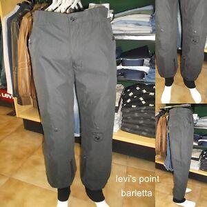 stimolare complemento sindrome  Pantalone UMM Con Elastico Alla Caviglia Tuta Uomo Largo Nero Taglia 46 50  54 | eBay