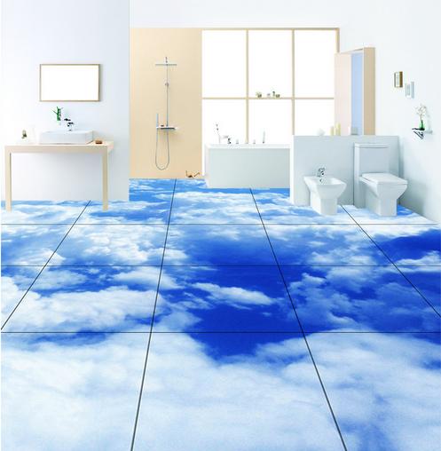 3D Wolken Fototapeten Wandbild Fototapete Tapete Familie DE Lemon