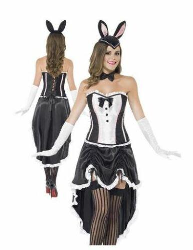 Smiffy/'s Bunny Burlesque Robe fantaisie 43883 femmes taille L 16-18