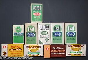 10-original-alte-Kaufladen-Papp-Schachteln-Schaupackungen