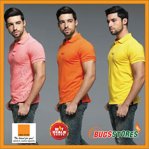 Colorful-Unisex-Men-Women-Collar-Short-Sleeve-Polo-Tee-T-Shirt-HC01