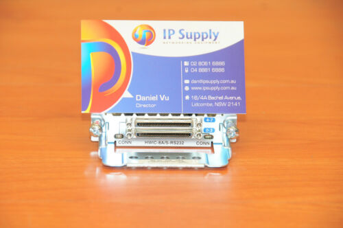 Cisco HWIC-8A//S-232 Module 8-Port ASYNC//SYNC RS-232 6MthWtyTaxInv