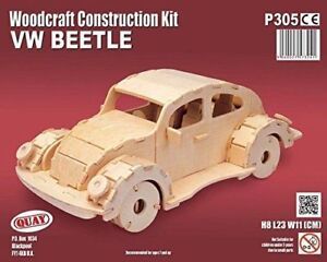 Details about VW BEETLE Woodcraft Construction Kit - Car 3D Wooden Model  Puzzle KIDS/ADULTS