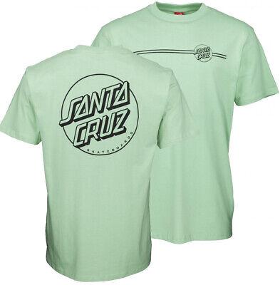 Santa Cruz Classic Opus Dot T-Shirt Tee Skateboard Black New Size S-5XL