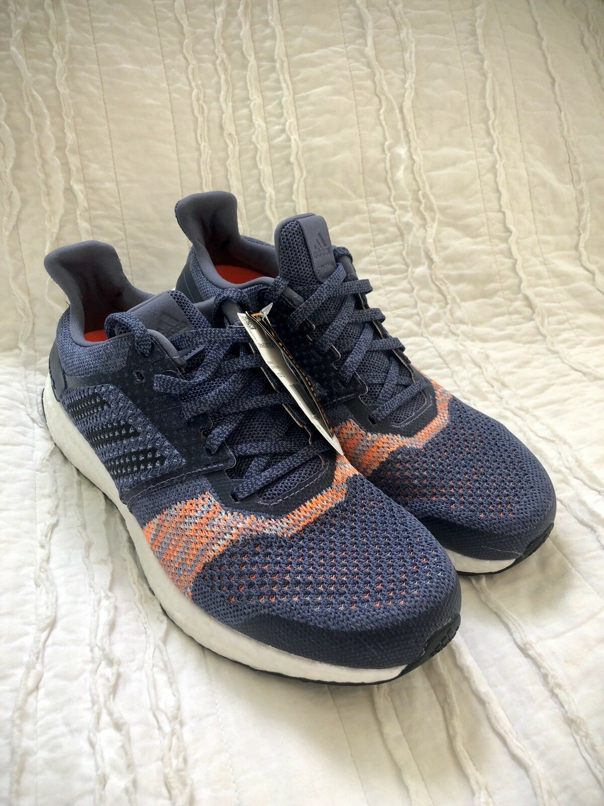 a9940b957afdb Women s Adidas UltraBOOST ST Running Shoes CQ2133 Size Size Size 10 Boost  Indigo Orange d24819