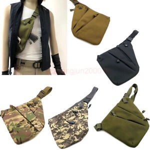 Sport-Man-Invisible-Chest-Sling-Bag-Anti-theft-Thin-Agent-Spy-Gun-Holster-Pouch