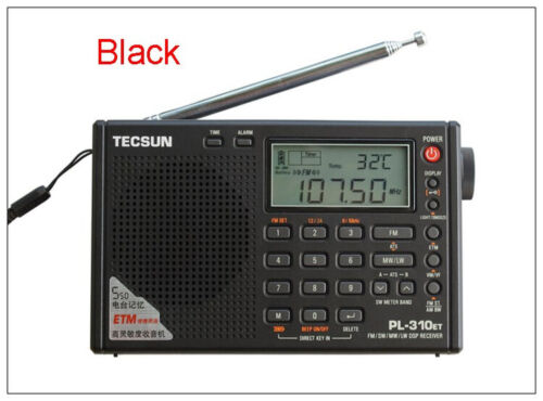 TECSUN PL-310ET Radio DSP World Band with ETM FM//AM//LW//SW Stereo Receiver