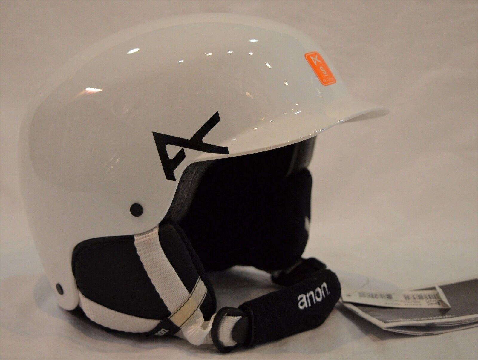 Youth  Unisex Burton ANON Scout Helmet Ski Snowboard Helmet WHITE Size SMALL  brand on sale clearance