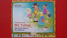 2003 Malaysia Stamp Booklet - 50th World Children's Day Celebration