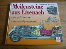 MEILENSTEINE AUS EISENACH - DIXI, BMW WARTBURG CAR BOOK jm