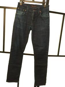 Nudie Womens Organic Tim Grim Jean L34 Nj3786 Cotton Lang Jeans W30 aarqBwO