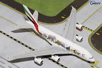 Gemini Jets Emirates Wildlife 1 Airbus A380-800 1:400 Die-cast Model Gjuae1550