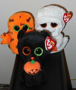 Ty-Beanie-Boos-6-Set-GHOULIE-MIST-SHADOW-Halloween-BRAND-NEW-IN-STOCK