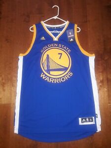 detailed look 264a8 2ea72 Details about Jeremy Lin Signed Golden State Warriors Jersey #7 Adidas  Swingman XL