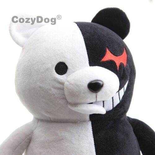 Danganronpa Game Plush Monokuma Stuffed Doll Toy Black /& White Bear Figure Gift