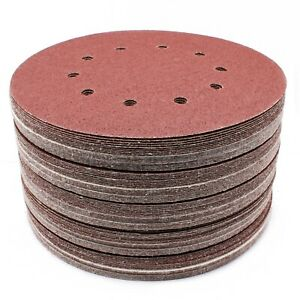 225mm-Schleifscheiben-Klett-Scheiben-Schleifpapier-P36-P40-60-80-100-120-150-180