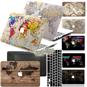 The-World-Map-Painted-Rubberized-Hard-Case-Cover-For-Macbook-Pro-Air-11-12-13-15