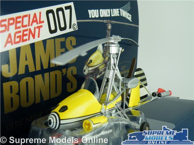 JAMES BOND LITTLE NELLIE GYROCOPTER MODEL MODEL MODEL CAR 1 36 SCALE YOU ONLY LIVE TWICE K8 65c05f