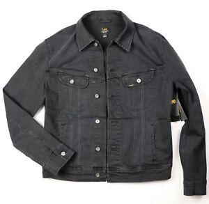 270ba4296b New Lee Men s Denim Jacket Trucker Riders Black Color Sizes S